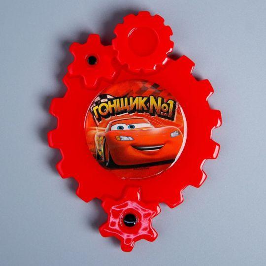 Сувенирный магнит Тачки красные шестеренки