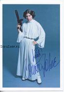 Автограф: Кэрри Фишер. Звёздные войны. Редкость