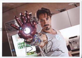 Автограф: Роберт Дауни мл. Железный человек