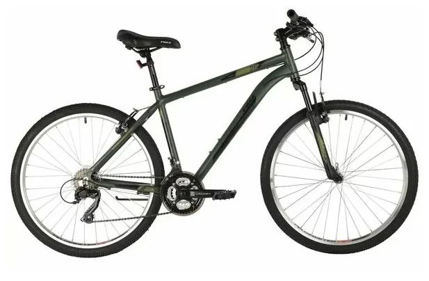 """Горный (MTB) велосипед Foxx Atlantic 26 (2021) Зелёный 16"""" (146562)"""