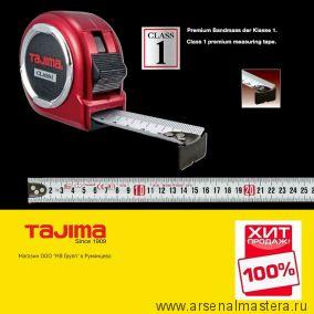 Рулетка TAJIMA HI LOCK CLASS 1 красная длина 3 м ширина 16 мм H1630MW ХИТ!