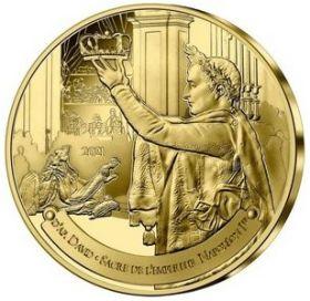 Коронация Наполеона I 1/4 Евро Франция 2021 на заказ