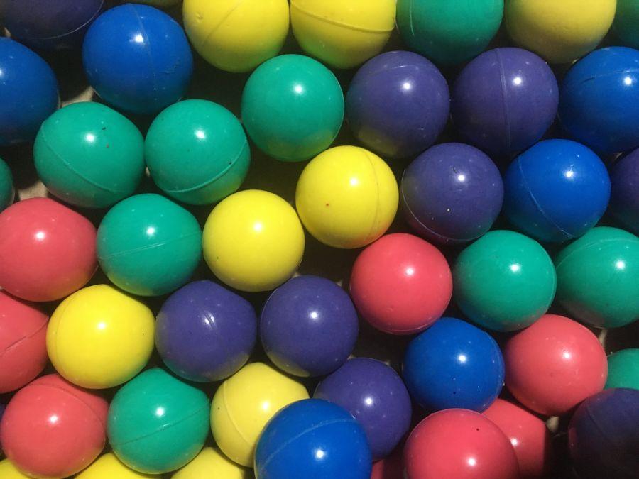 """Мяч 25 мм """"Фонари"""" 3,91₽"""