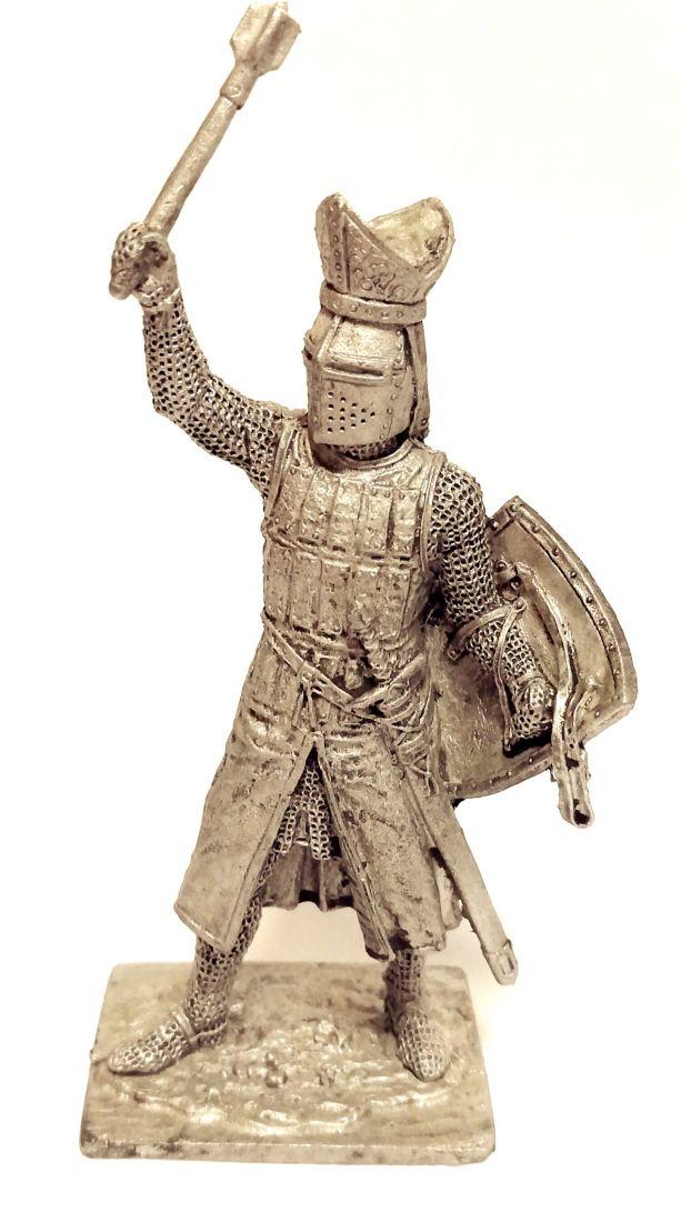 Фигурка Вальтер Фон Герольдсек епископ Страсбурга 1262г. олово