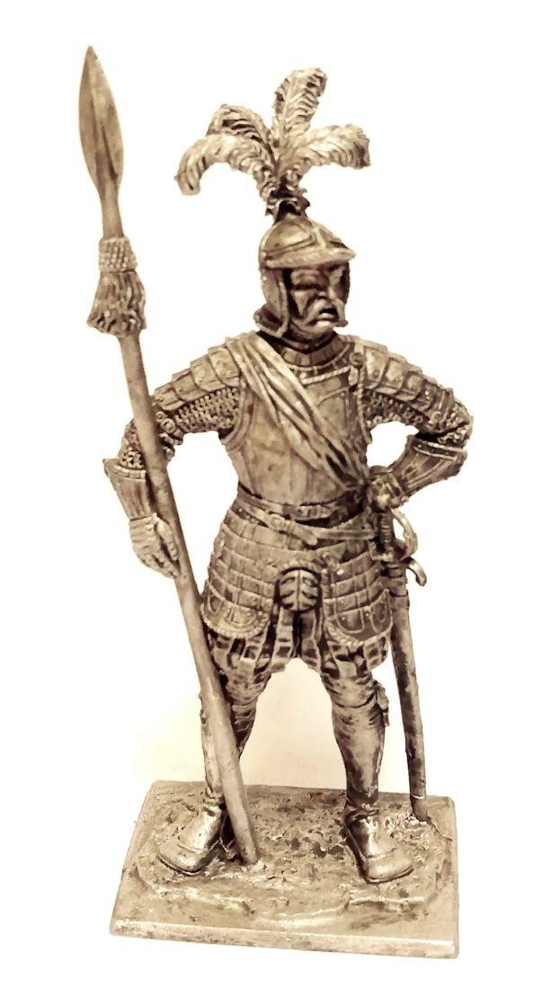 Фигурка Капитан Ландскнехтов 1544г. олово