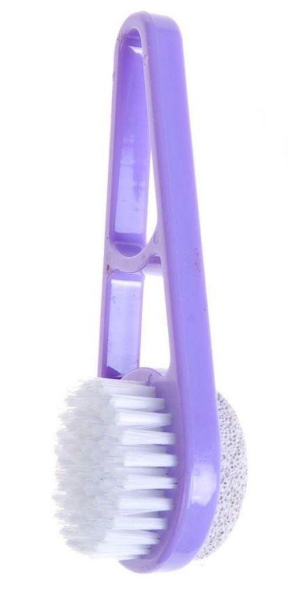 Пластиковая щетка-пемза для стоп (е80)