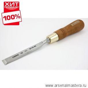 Стамеска плоская 16 мм полированная NAREX PREMIUM 811666 ХИТ!