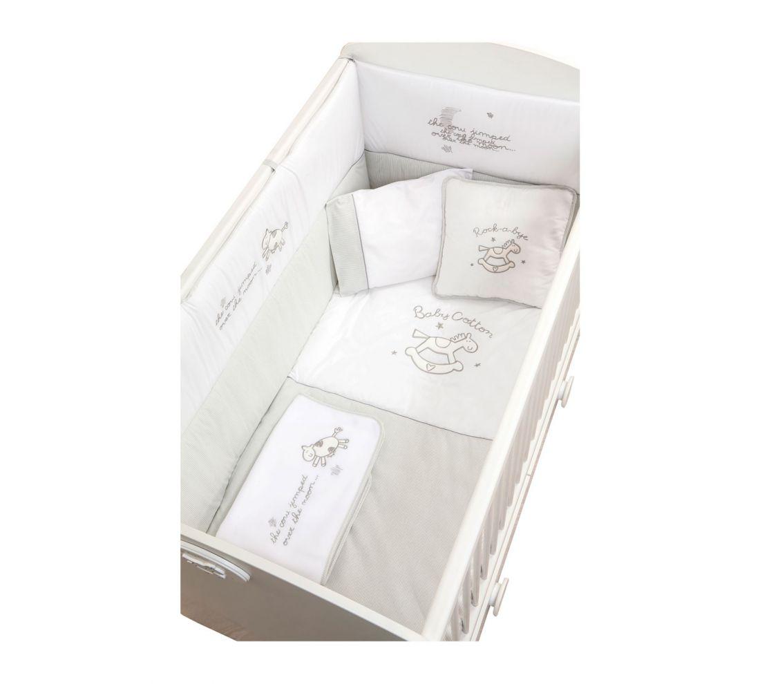 Комплект постельных принадлежностей Baby Cotton (80x130 см)