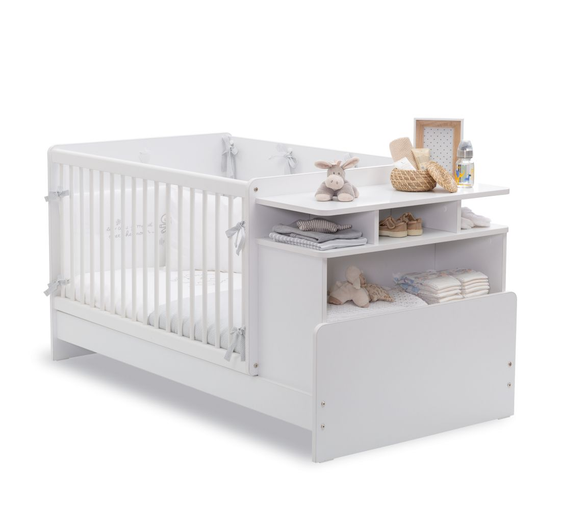 Baby Cotton Кровать-трансформер, со столом, сп. м. 70х110/70х140