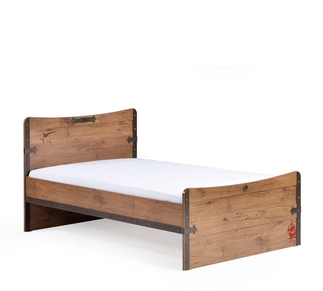 Pirate Кровать L, сп. м. 100х200