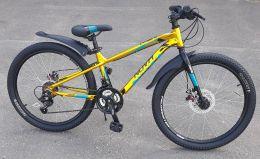 Велосипед Novatrack Prime 24 Gold