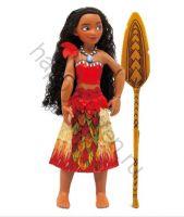 Кукла Моана с веслом