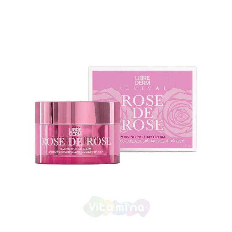 Либридерм Rose de Rose Возрождающий дневной насыщенный крем, 50 мл