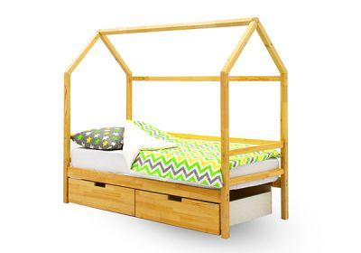 Кровать-домик Бельмарко Svogen (натуральный)