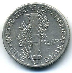 США 10 центов 1940