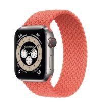 Часы Apple Watch Edition Series 6 GPS + Cellular 40mm Titanium Case with Electric Orange Braided Solo Loop