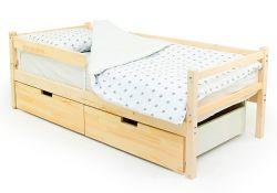 Деревянная кровать-тахта Бельмарко Svogen (натуральный)