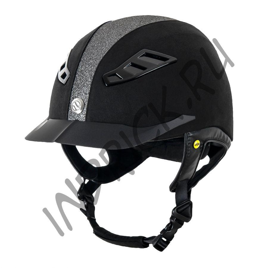 Шлем для верховой езды EQ3 Lynx Microcoup Серебряный Песок