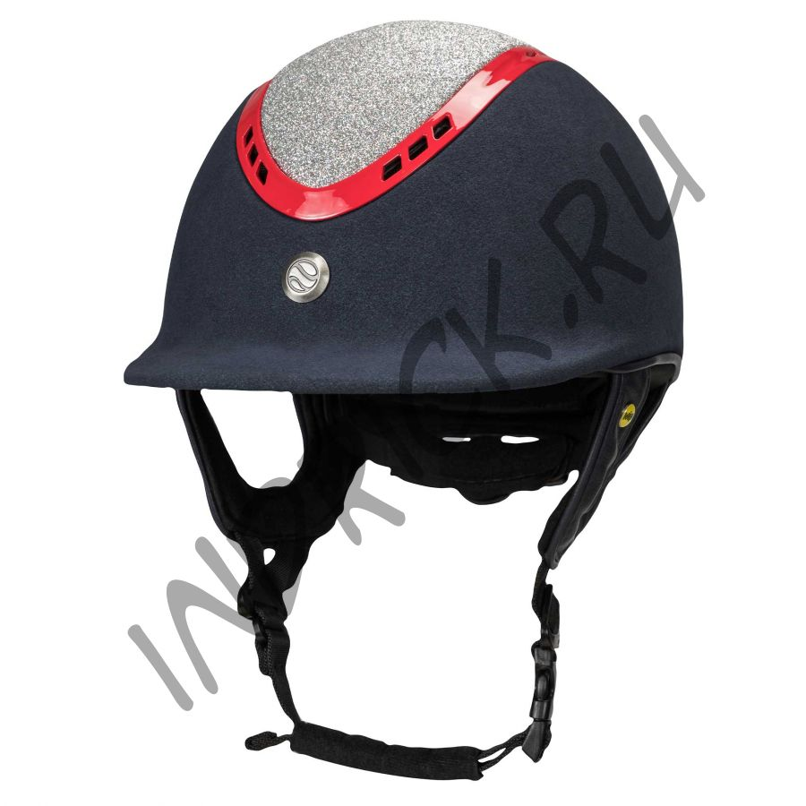 Шлем для верховой езды EQ3 Pardus Micromocca Красный Бриллиант (винтовая регулировка)