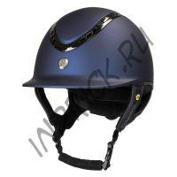 Шлем для верховой езды EQ3 Pardus Синий Топ (винтовая регулировка)