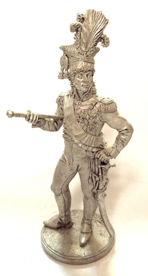 Фигурка Король Неаполитанский, маршал Франции Иоахим Мюрат. 1810-12 гг. олово