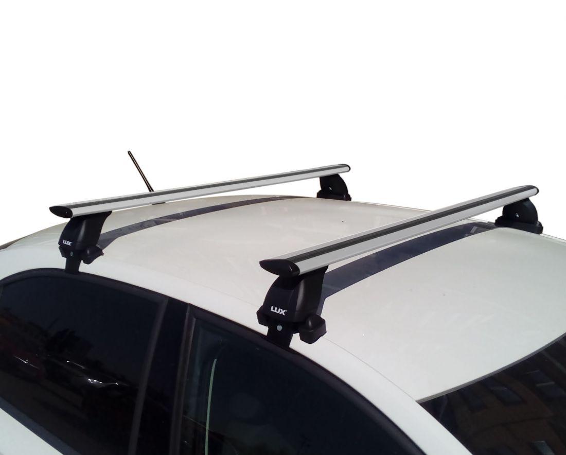 Багажник на крышу Skoda Superb B8, Lux, крыловидные дуги