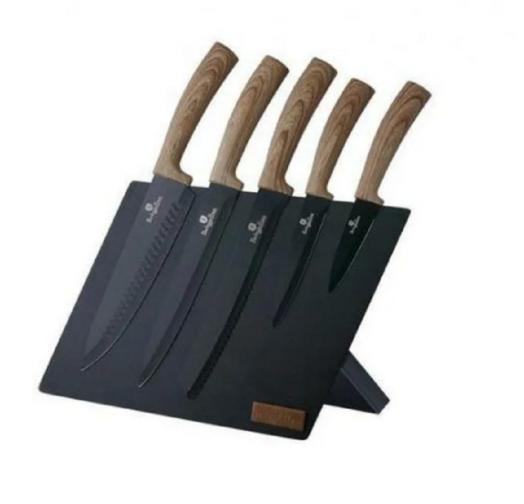 BH-2521 Набор ножей на подставке 6 пр.