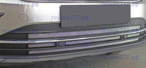 Решётки-сетки в бампер, серия Стандарт, алюминий