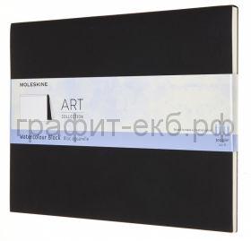 Книжка зап.Moleskine XLarge Soft ART WATERCOLOR черный 20л. ARTWBL4