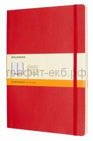 Книжка зап.Moleskine XLarge Soft Classik линейка красная QP621F2