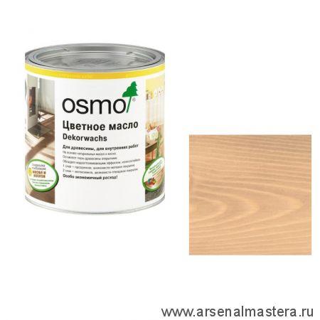 Цветное масло с воском прозрачное для внутренних работ Osmo Dekorwachs Transparent 3102 Бук дымчатый 0,75 л
