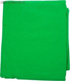Фон муслиновый Raylab RL-BC01 3*3м зеленый хромакей