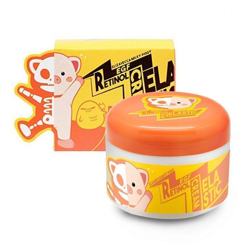 Крем для лица с ретинолом антивозрастной Elizavecca Milky Piggy EGF Retinol Cream, 100мл (Корея оригинал) (2г450)