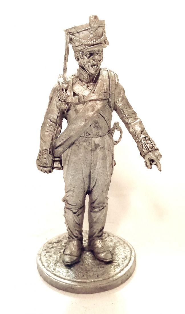 Фигурка Фейерверкер армейской пешей артиллерии. Россия, 1809-14 гг. олово