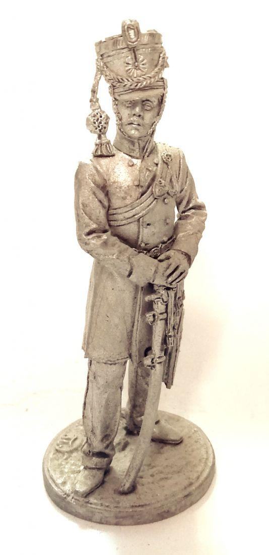 Фигурка Офицер гусарского полка. Баден, 1812 г. олово
