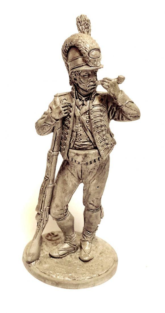 Фигурка Рядовой Каталонского батальона лёгкой пехоты. Испания, 1807-08 гг. олово
