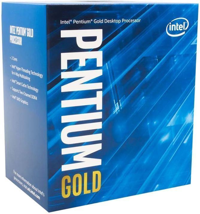 Процессор Intel Pentium Gold G6400, BOX (BX80701G6400 S RH3Y)