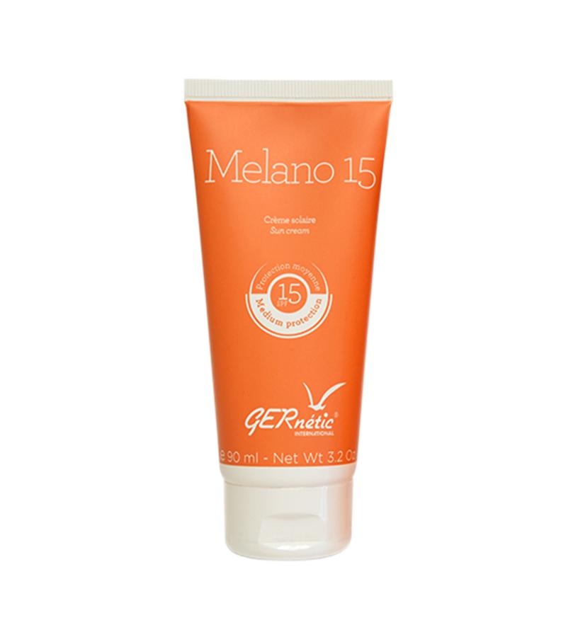 MELANO 15 Cолнцезащитный крем для лица и тела SPF 15 Gernetic International (Жернетик) 90 мл