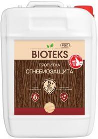 Огнебиозащита для Древесины Bioteks 5л 2 Группа, Бесцветный, Красный / Биотекс Огнебиозащита