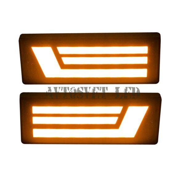Светодиодные поворотники Нива P-N-8