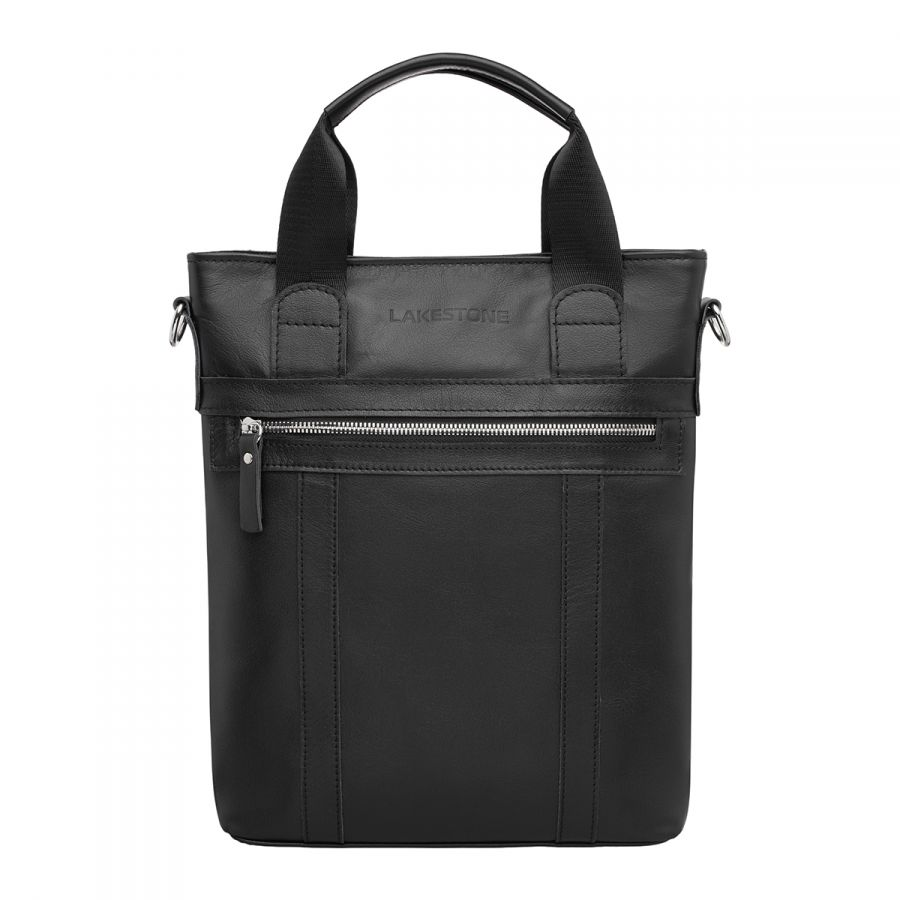 Деловая сумка вертикальная LAKESTONE Orwell Black