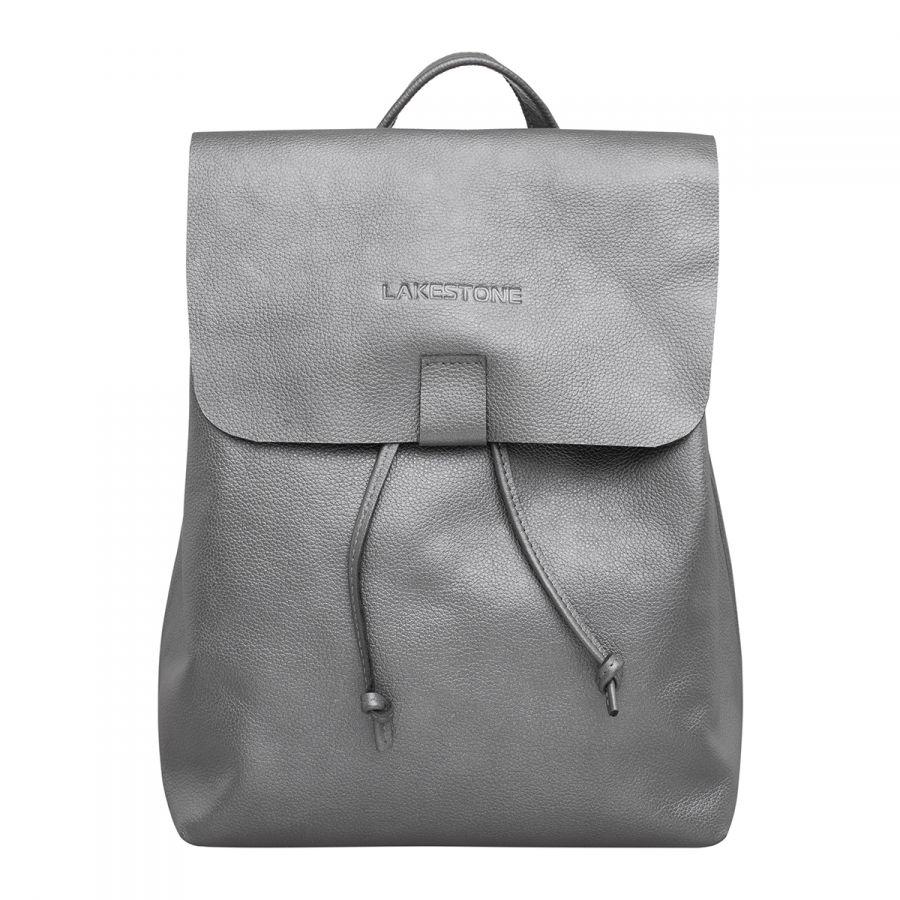 Женский рюкзак LAKESTONE Abbey Silver Grey