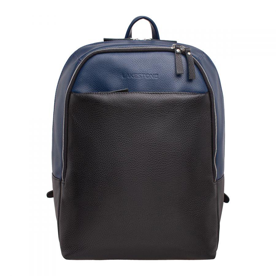 Мужской рюкзак LAKESTONE Faber Dark Blue/Black