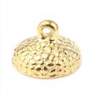 фото Шапочки для бусин Желудь 15 мм 2 штуки в упаковке, разные цвета M47244 золото