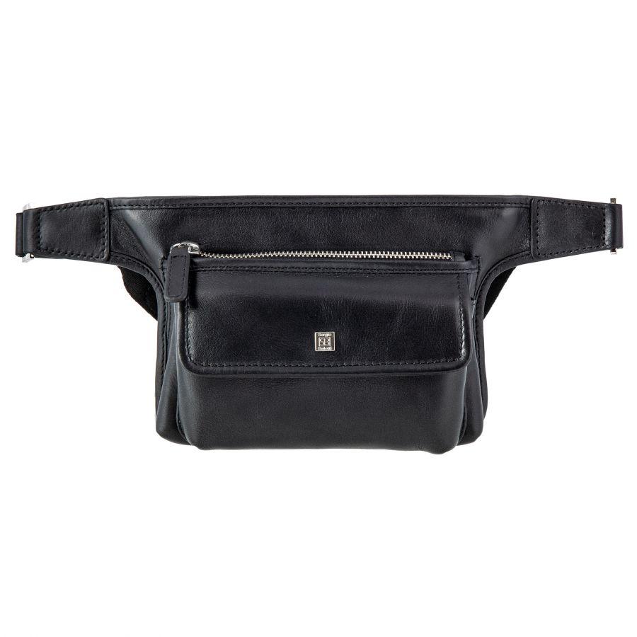 Поясная сумка Sergio Belotti 9648 VT Genoa black
