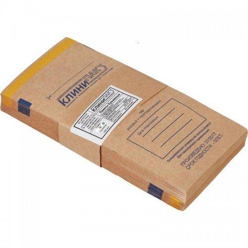 115 *250 Пакет Бумажный самозапечатывающийся для сухожаровой, паровой, воздушной и газовой стерилизации