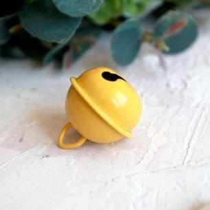 Бубенчик - 2 см Лимонный