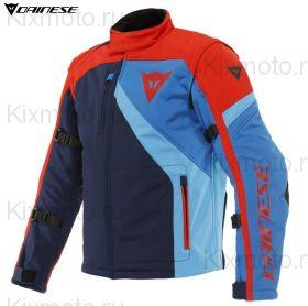 Куртка Dainese Ranch Tex, Синяя с красным