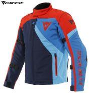 Куртка Dainese Ranch Tex, Светло-синяя с красным