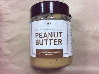 Натуральная арахисовая паста кранч,ORTYM, 250 грамм, пластик